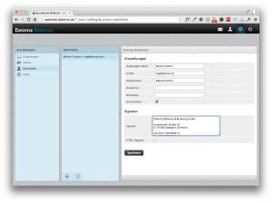 webmailer-einstellungen